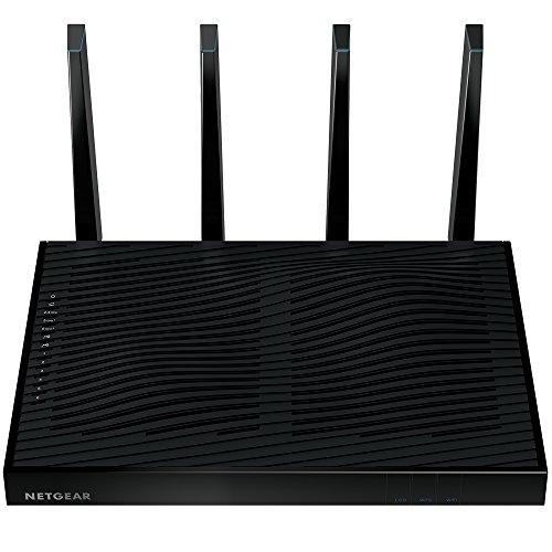 NETGEAR R8500-100NAS Nighthawk X8 AC5300 Tri-Band Quad Stream Wi-Fi Router Black