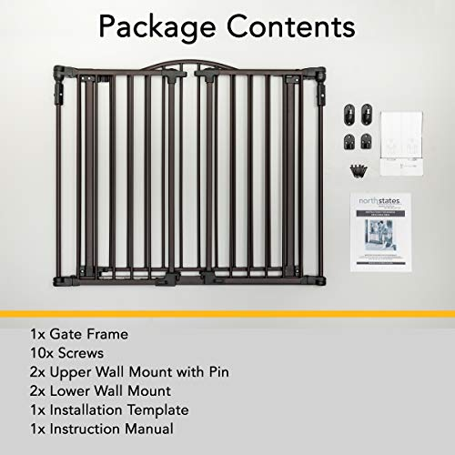 Deluxe Decor Gate By North States Fits Extra Wide Openings And Has
