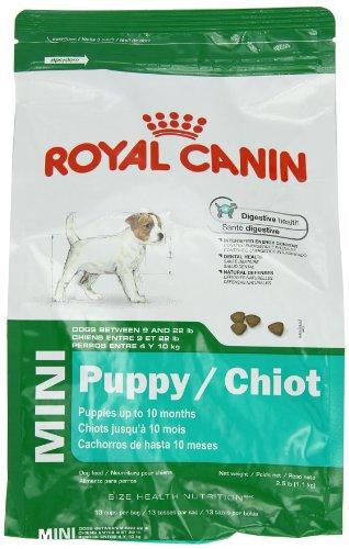 Royal Canin Mini Puppy, Dry Dog Food Formula, 2-1/2-Pound Bag, My Pet Supplies