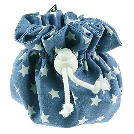 louka Chupete funda Jeans azul estrella blanca bebé, niño y ...