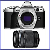 OM-D E-M5 Mark II Mirrorless Micro Four Thirds Digital Camera (Body, Silver) + Olympus M.Zuiko ED 14-150mm f/4-5.6 II Lens