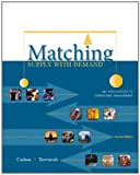 img - for Matching Supply with Demand: An Introduction to Operations Management book / textbook / text book