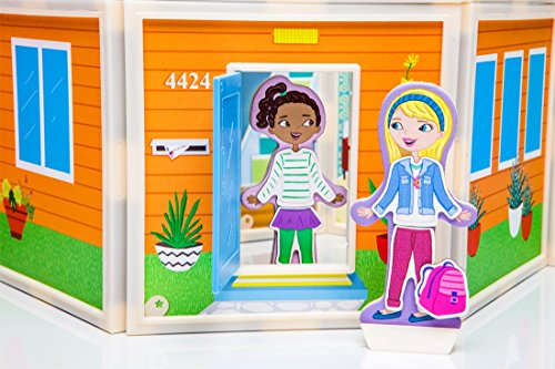 Build & Imagine: Malia's House (award-winning magnetic dollhouse you design yourself) by Build & Imagine (Image #4)