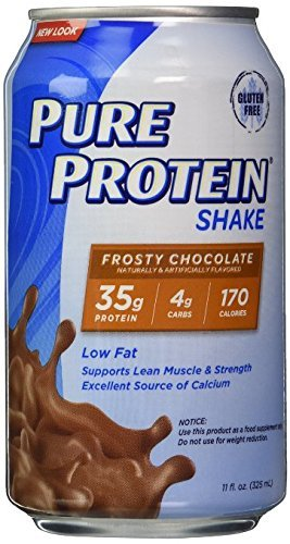 Pure Protein Ready to Drink Shake 35 Grams Protein, Frosty Chocolate (pack of 48)