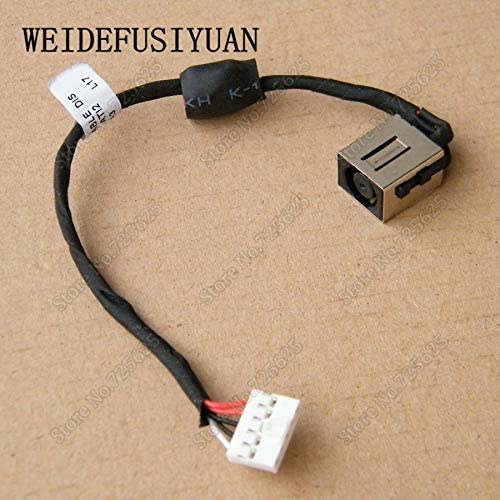 Cable Length: 15CM ShineBear New Laptop AC DC Power Jack with Cable Harness for Dell Inspiron 14 5443 5447 5448 5445