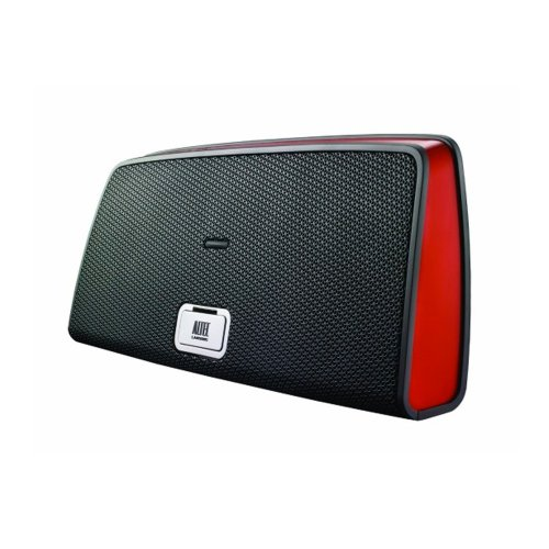 Iphone Lansing Altec (Altec Lansing iMT630RED Portable Dock for iPhone and iPod)