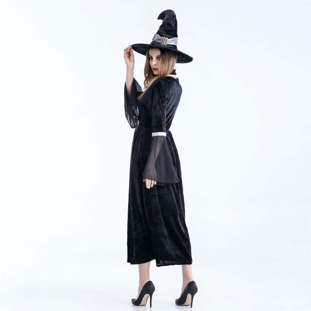 Shisky Cosplay kostüm Damen, Erwachsene Hexe Kostümparty Kostüm Vampir Spinne Hexe Prinzessin Kleid