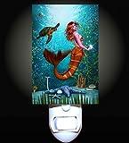 Mermaid Oyster Reef Decorative Night Light