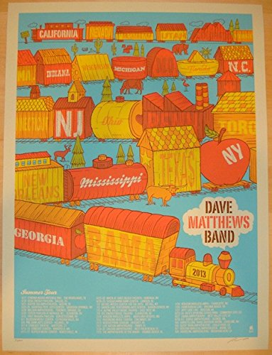 Dave Matthews Band Posters For Sale Only 4 Left At 70