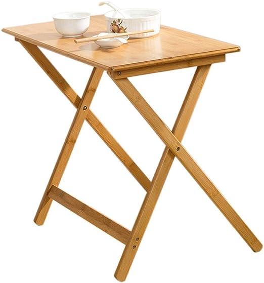 Pequeña mesa de café JT, Muebles de bambú, Sala de Estar, balcón ...