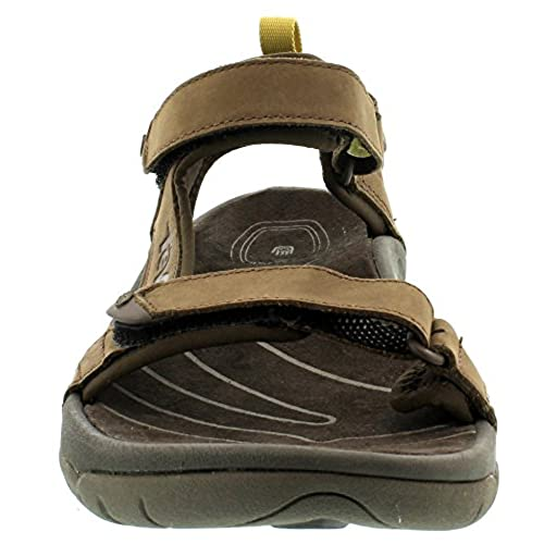 well-wreapped Teva Men s Tanza Leather Sandal - garde-partagee.ca 47d4d0838
