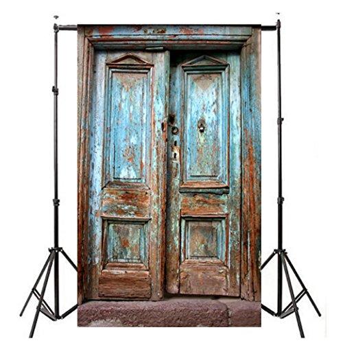 WensLTD Clearance! Vinyl Wood Wall Floor Photography Studio Prop Backdrop Background 3x5FT (B)
