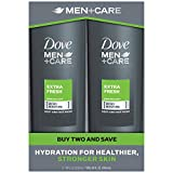 Best Mens Body Wash Dove Men+Care Body Wash, Extra Fresh 18 oz, Twin Pack