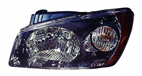 Depo 323-1117L-AS7 Kia Spectra5 Driver Side Replacement Headlight Assembly 02-00-323-1117L-AS7