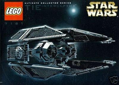 LEGO Star Wars Ultimate Collector Series TIE Interceptor (7181) (Lego Star Wars Collector Series)