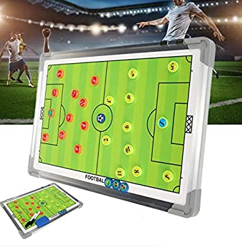 WANGYONGQI Portable Soccer Football táctico Board 44.5 x ...