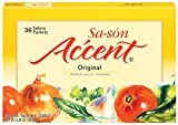 Sa-son Accent Seasoning, Original Flavor, 36 Packets (Pack of 15)