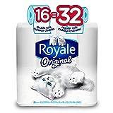 Royale Original Bathroom Tissue, 16 Double Rolls