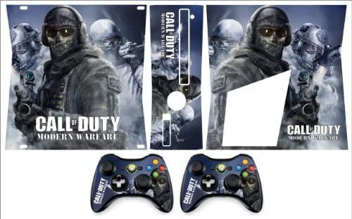 Xbox 360 Slim Skin COD Modern Warfare by Sign Smith: Amazon.es ...