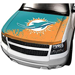NFL Miami Dolphins Hood Cover, Teal, Standard Size