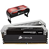 Corsair C17 - Intel 100/200 Series DOMINATOR Platinum 16GB (2x8GB) DDR4 3733 (PC4-29800) PC Memory (CMD16GX4M2B3733C17)
