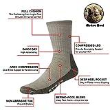 Merino Wool Socks, RTZAT Thermal Warm Winter Silver...