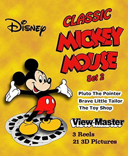 (ViewMaster Classic Disney's MICKEY MOUSE Set 2 - 3 Reels - 3 Stories)
