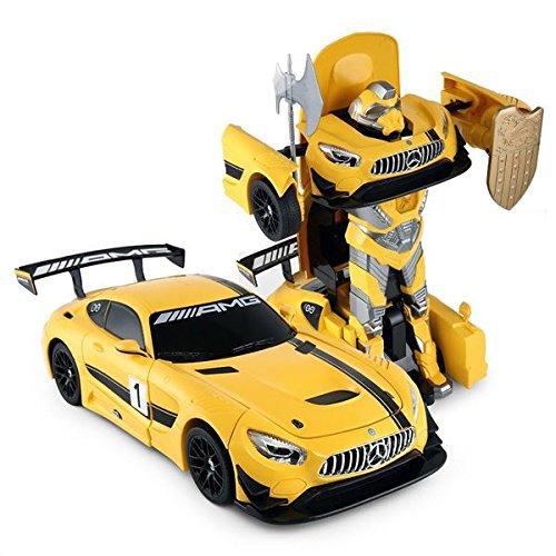 PowerTRC 1:14 Mercedes-Benz GT3 2.4ghz RC Transformer Dancing Robot Car (Mercedes Rc Car)