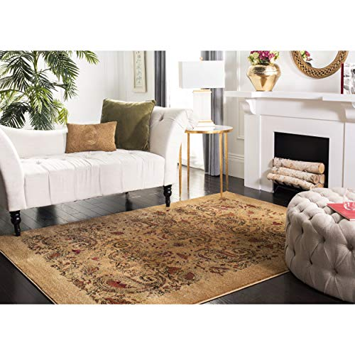 Safavieh Lyndhurst Collection LNH224A Traditional Paisley Beige and Multi Area Rug (3'3