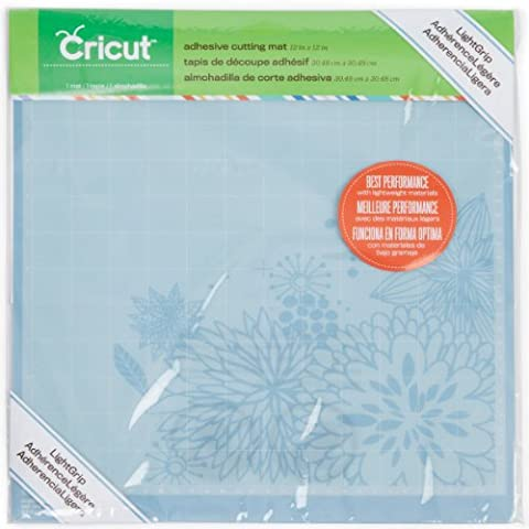 Cricut LightGrip Adhesive Cutting Mat, 12 by 12 (7 Day To Die)