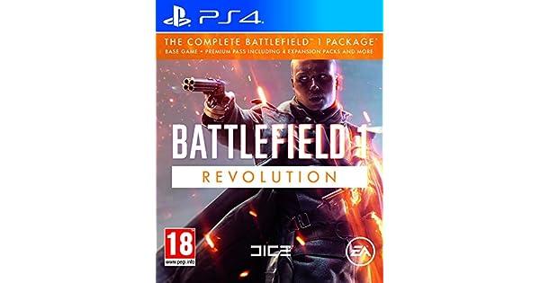 PS4 Battlefield 1 Revolution incl. Premium Pass: Amazon.es: Videojuegos