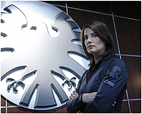 Agents Of S H I E L D 8 X 10 Photo Cobie Smulders Maria Hill In Front Of Shield Arms Crossed Pose 2 Kn At Amazon S Entertainment Collectibles Store