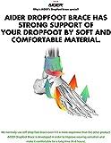 AIDER Dropfoot Braces Type 3 - Foot stabilizer Worn