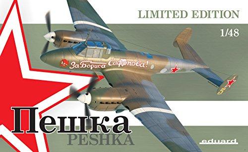 Eduard Kit 1:48 Ltd Edit -petlyakov Pe-2 Peshka