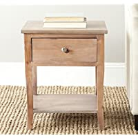 Safavieh American Homes Collection Coby End Table, Natural