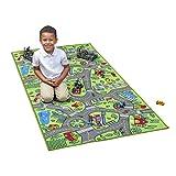 Kids Carpet Playmat City Life Extra Large Learn