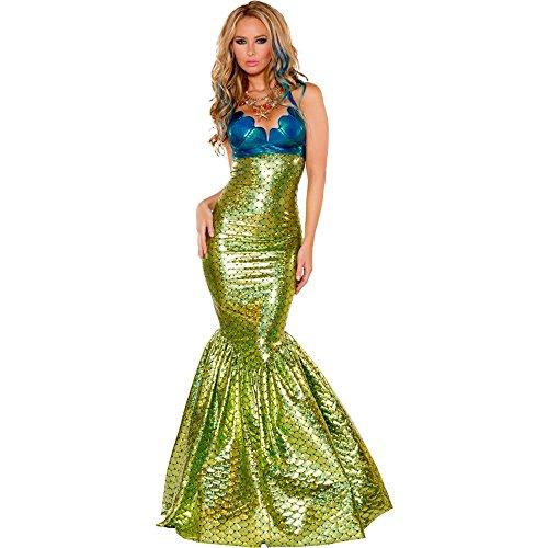 J Valentine Women Sexy Sirena the Mermaid Costume (Comple...