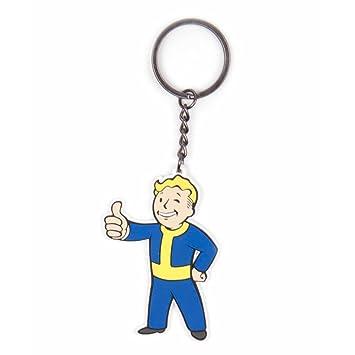 Fallout 4 Vault Boy Approves Keychain [Importación Inglesa ...