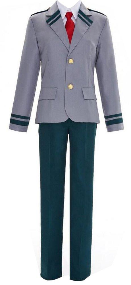 ROLECOS Izuku Midoriya High School Uniform Sets Cosplay Costume Outfit L GC138A