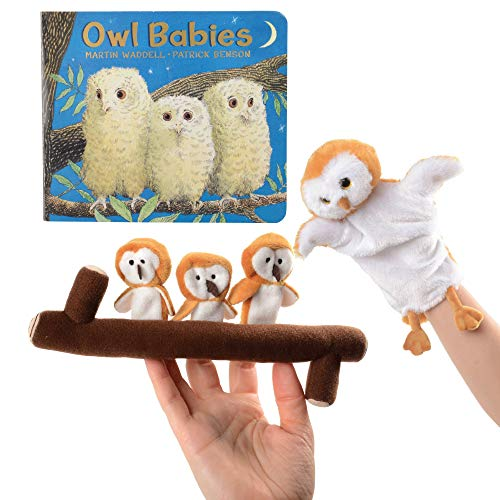 (Owl Babies Story Telling Puppets with Branch and Board Book)
