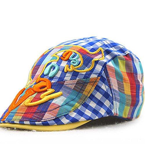 4b2441ebe Impression 1 PCS Boinas Boina de niño Ocio Retro Hat Gorra de golf Sombrero  de Sol Boina de moda Deporte al Aire Libre Primavera Verano para ...