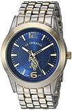 U.S. Polo Assn. Men's Analog-Quartz Watch with Alloy Strap, Two Tone, 23.8 (Model: USC80466)