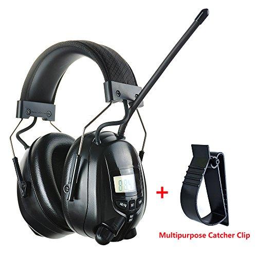 Protear Radio Safety Earmuffs Audio Tough Sound Electronic N