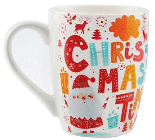 MAUAG Santa Claus Funny Coffee Mug Unique Christmas Gifts -