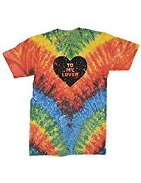 Expression Tees to My Lover Heart Mens T-Shirt