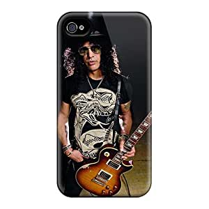 Scratch Resistant Hard Cell-phone Case For Iphone 4/4s With Custom Lifelike Guns N Roses Pictures ChristopherWalsh