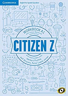 Citizen Z A1 Workbook with Online Workbook and Practice, with Downloadable Audio - Pack de