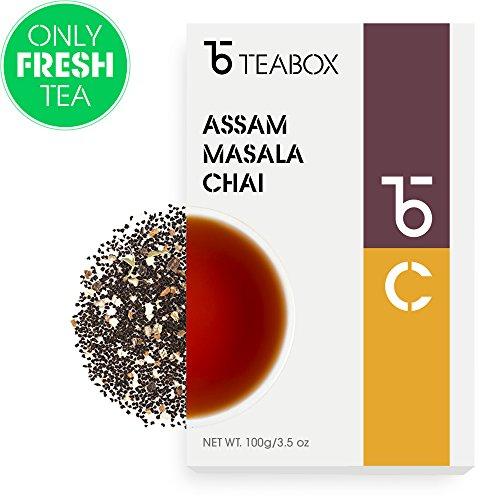Teabox Assam Masala Chai Spiced Loose Tea, 3.5 Oz (60+ Cups)