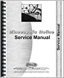 New Service Manual Made for Minneapolis Moline Tractor Model M5