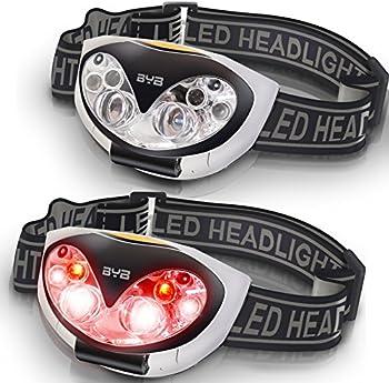 2-Pk. BYB LED Headlamp Flashlight